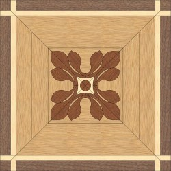 Back Oak, Walnut - Mahogany - Maple inlay